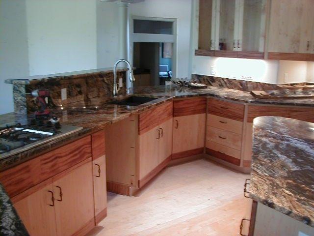 Custom Contemporary Kitchen . Portland Oregon. by Afc Inc