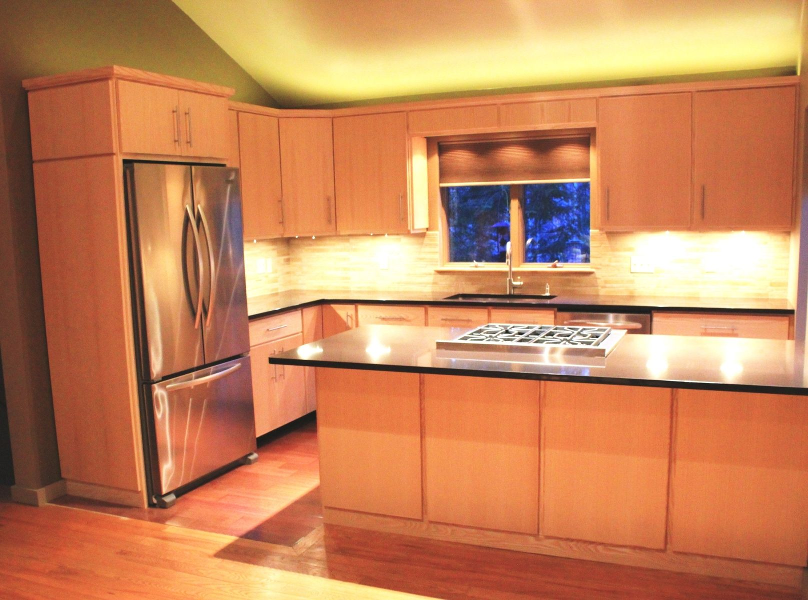 ash kitchen cabinets decor hand crafted custom by blue spruce joinery made