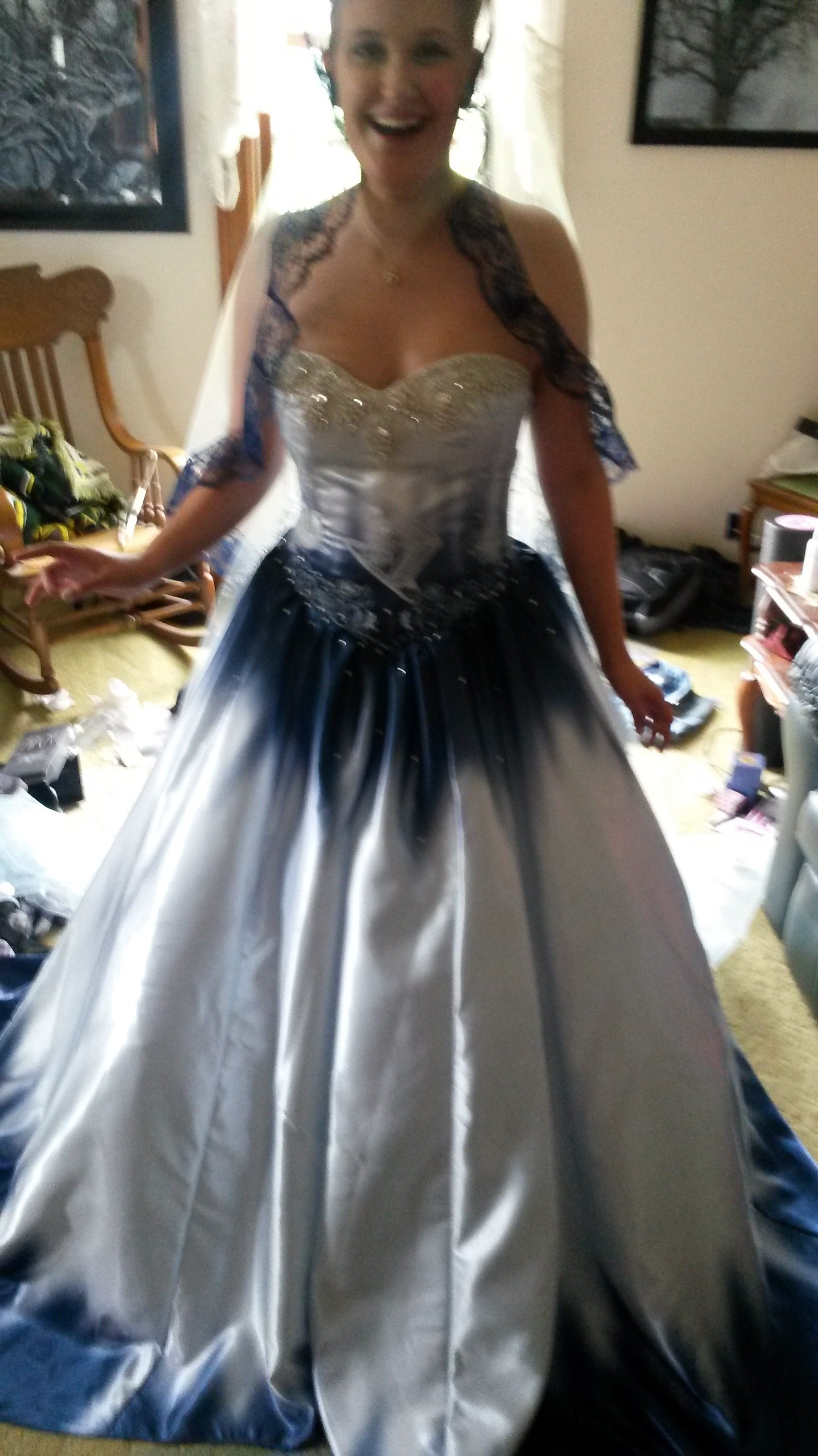 Handmade Custom Alice In Wonderland Wedding Dress By Tony