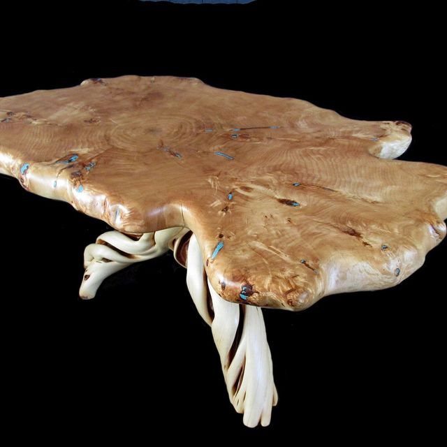 Cottonwood Burl Slab