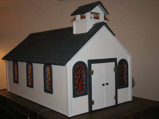 Hand Made Toy Wooden Church by Stockwell Creek Furniture  CustomMadecom