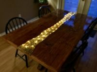 Custom Glowing River Dining Table by Great Lakes Design ...