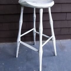 Stool Chair Making Chapel Chairs With Kneelers Buy A Hand Crafted Bar Bamboo Leg Windsor 29 5
