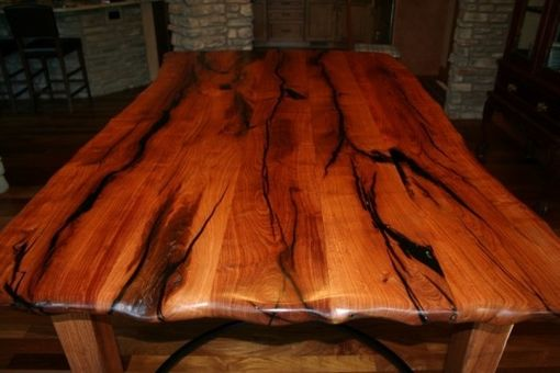 Hand Crafted Mesquite Dining Table by Porch Light Custom Woodworking  CustomMadecom