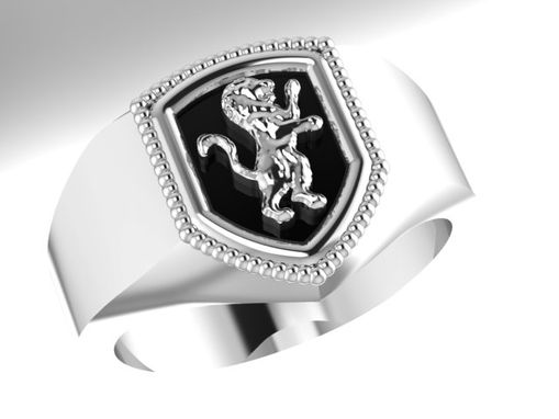 Buy A Hand Made Gryffindor House Ring Harry Potter