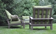 Hand Cypress Patio Furniture Glessboards