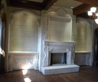 Custom Cast Stone Fireplace Mantels by Coral Stone ...