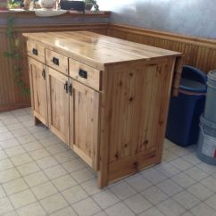 Kitchen Mobile Island Calphalon Outlet Hand Made Portable By The Amish Hook Up