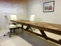 Hand Made Extra Long Reclaimed Wood Conference Table by ...