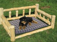 Custom Dog Bed by Vermont Timbersmiths   CustomMade.com
