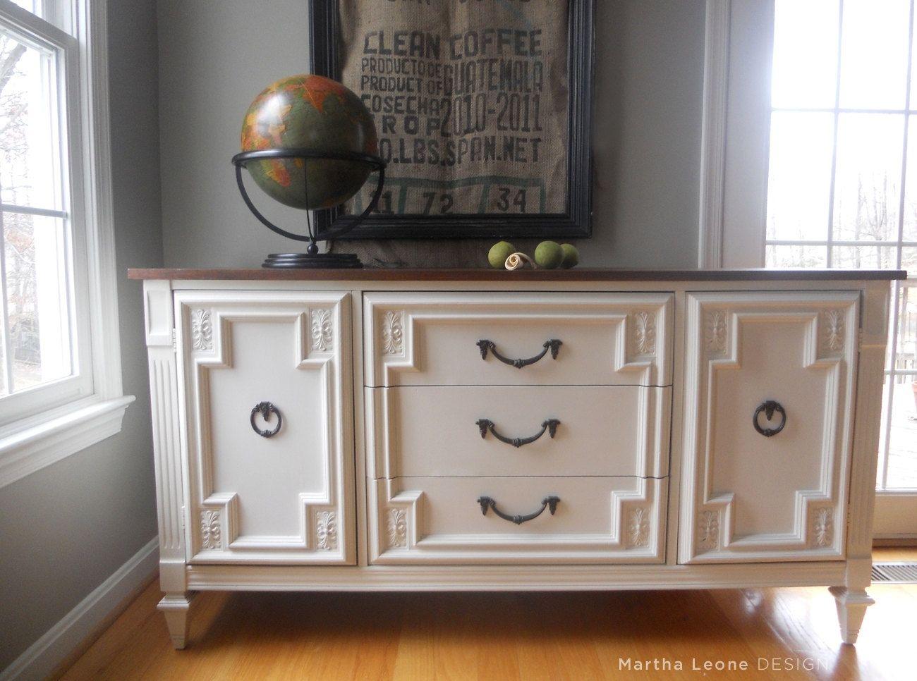 Custom Made Sample  Mid Century Buffet  Dresser by
