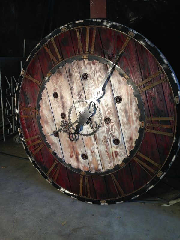Steampunk Large Clock