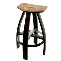 Buy a Handmade Industrial Style Bar Stools In Ebony, made ...