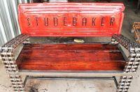 Hand Made Truck Tailgate Garden Bench / Garden Benches ...