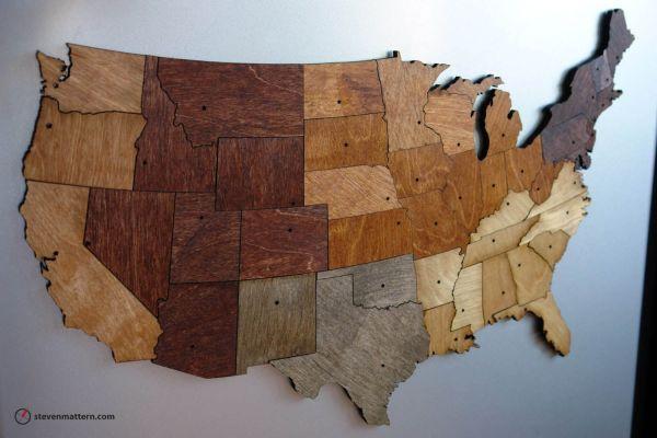 Hand Map Puzzles Steven Mattern Design Build