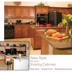 Refacing Kitchen Cabinets Before And After Folding Cart Hand Made Cabinet By Hi Lo