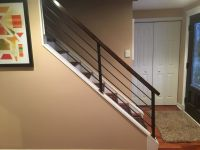 Hand Made Horizontal Slat Railing by Wacoavenue ...