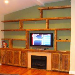 Custom Made Living Room Furniture Teal And Lime Green Decor Reclaimed Wood Wall Unit By Endless Design Custommade Com