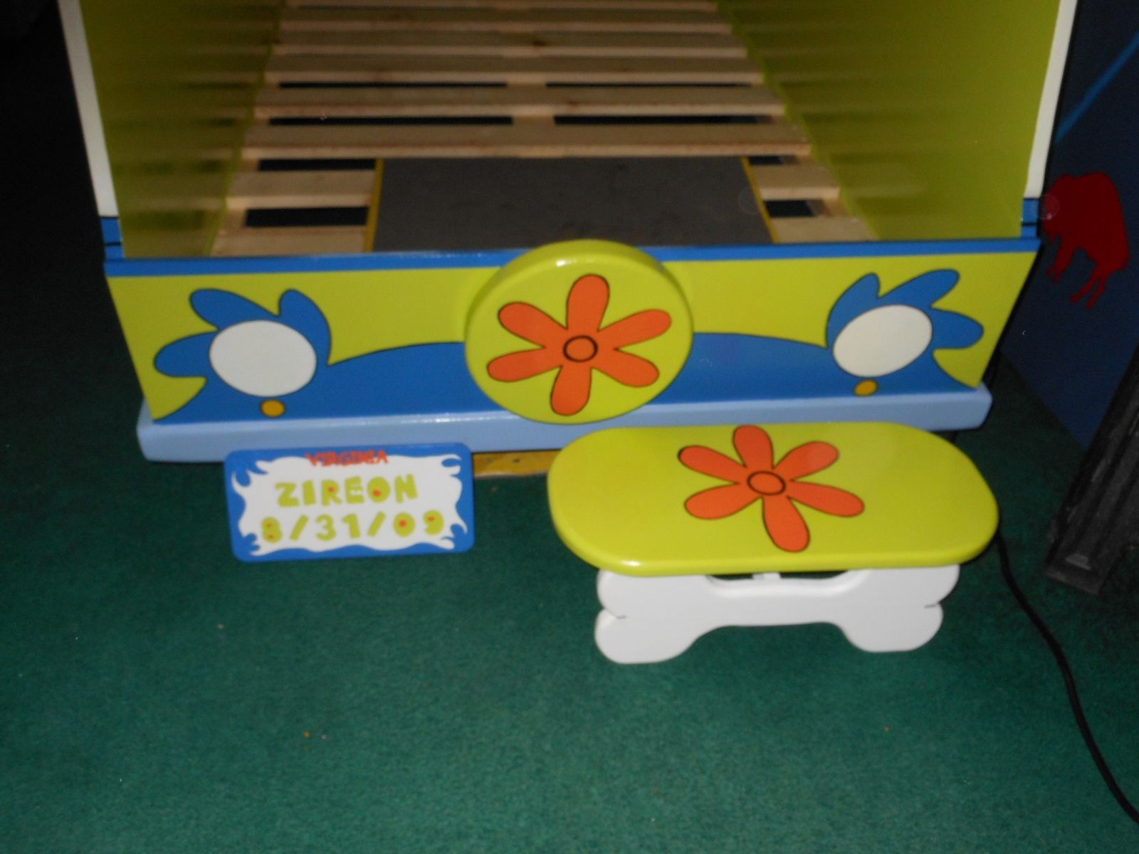 scooby doo chair buy blue bay rum online a hand made twin size toddler bed quotscooby themed
