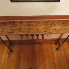 Custom Made Sofa Tables Chair Sale Barnwood Console Table By John Gaines Woodworking