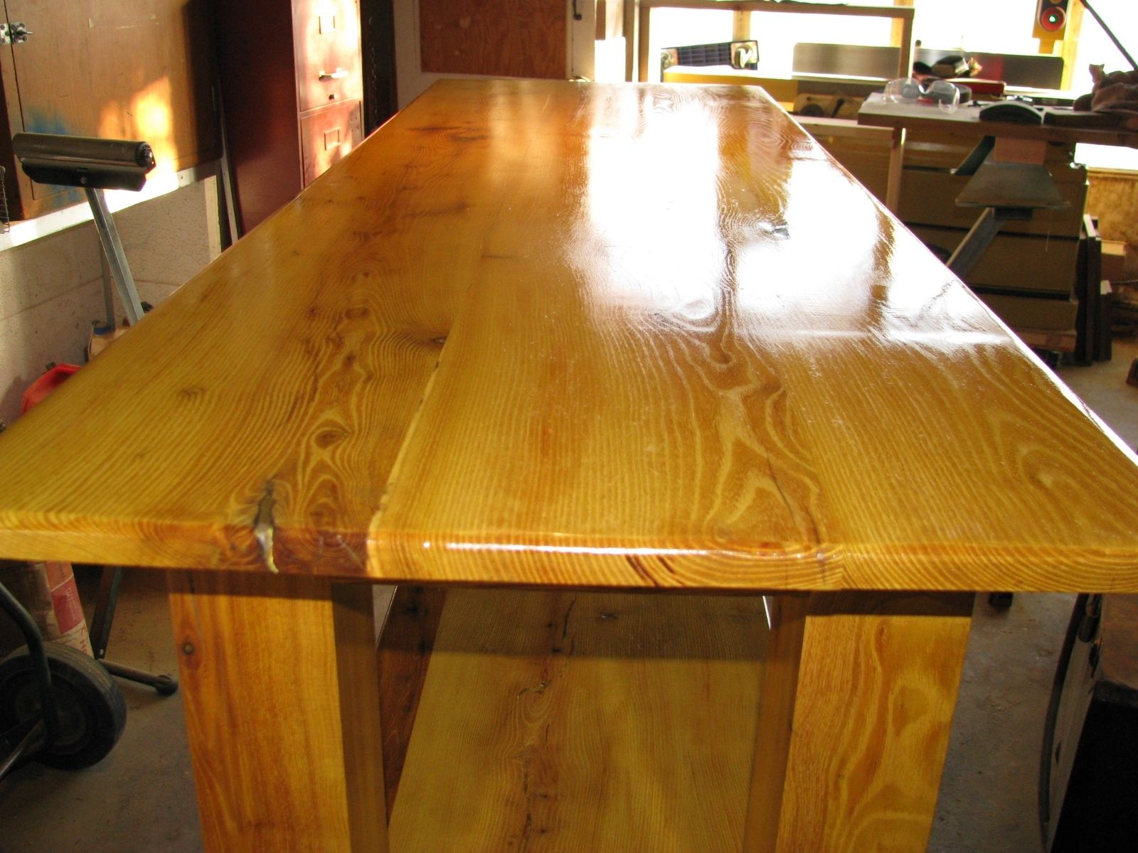Hand Crafted Orange Table by MDMCO  CustomMadecom