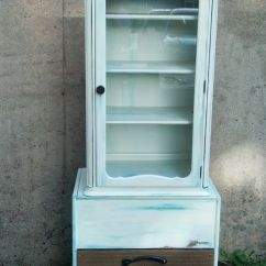 Acrylic Kitchen Cabinets Best Camp Custom Record Player And Old Cabinet Repurposed As Hutch ...