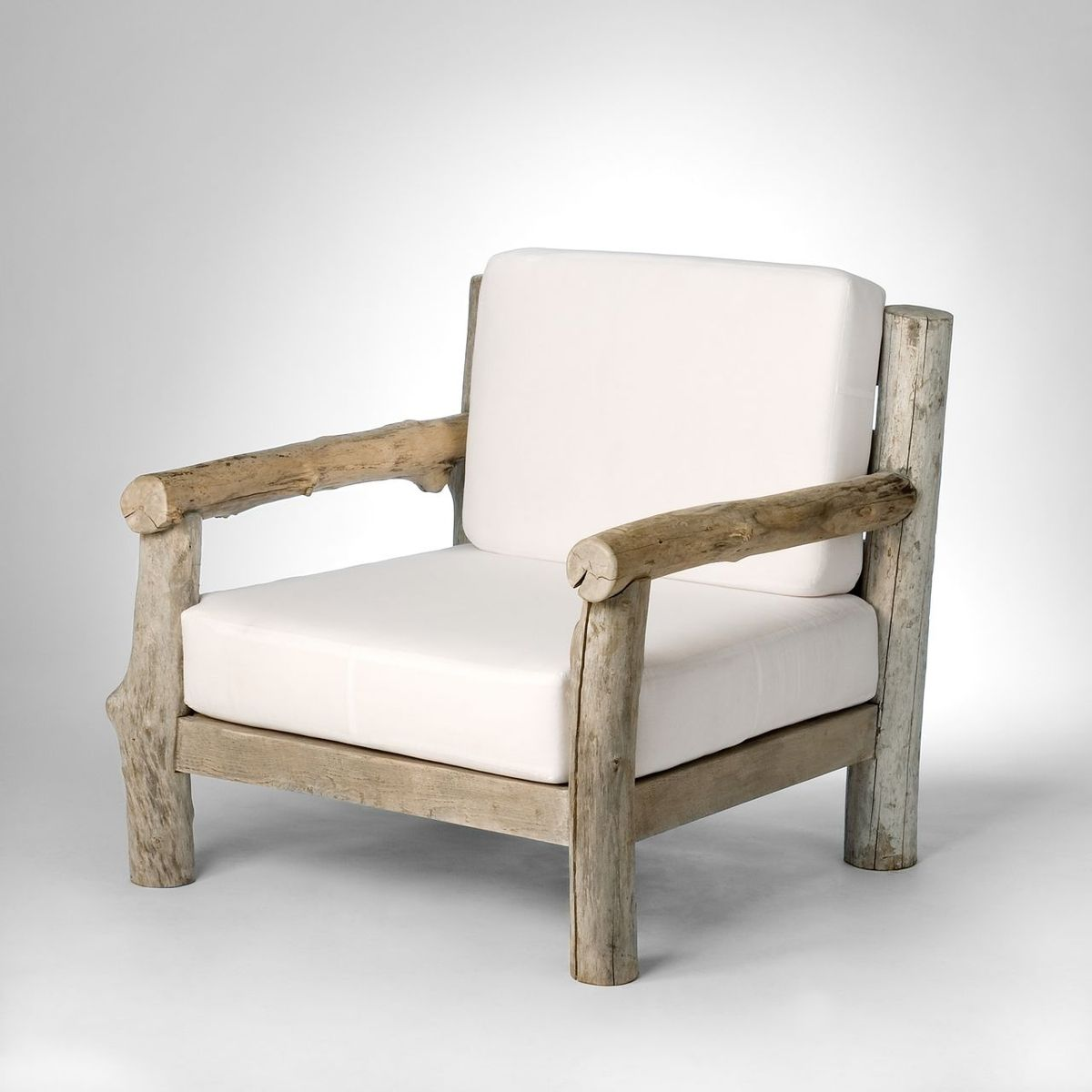 Driftwood Chair Handmade Driftwood Club Chair By Michael Fleming Designs