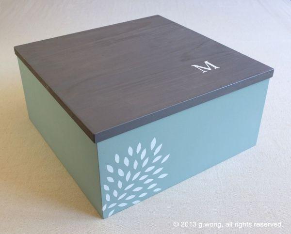 Personalized Memory Boxes Keepsake