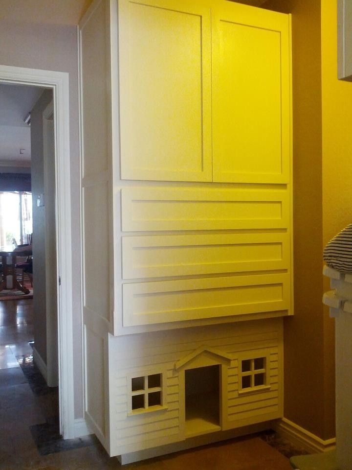Handmade Laundry Room Linen ClosetDog House by Custom