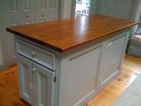 Handmade Custom Kitchen Island Reclaimed Wood Top by Cape ...