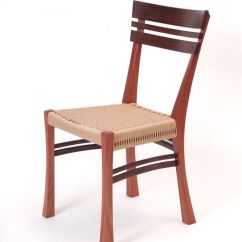 Desk Chair Made How To Make Chairs Hand Crafted Danish Cord Mahogany By Dogwood Design Custom