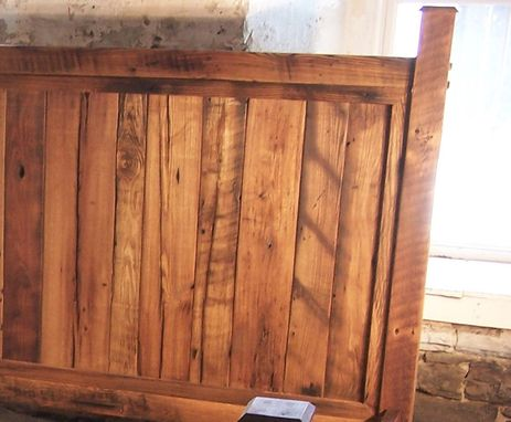 Buy A Handmade Cabin Style Reclaimed Wormy Chestnut Bed Frame Made To Order From The Strong