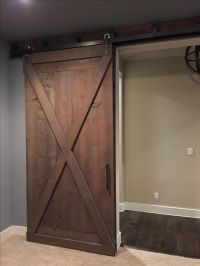 Custom Made Double By-Pass Barn Doors by WOODWERD ...