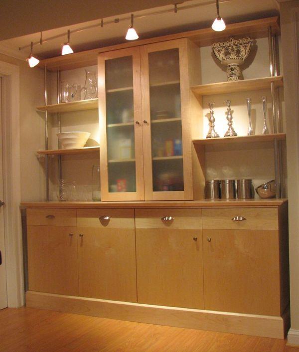 Hand Maple Kitchen Wall Unit Scott Pennington