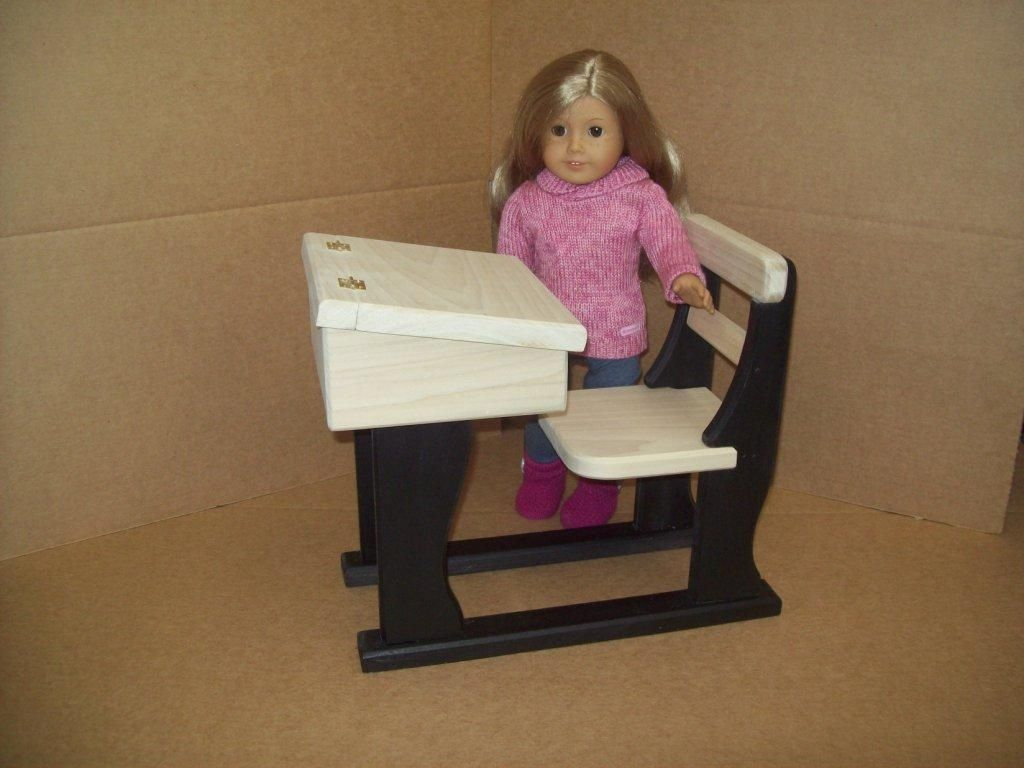 18 inch doll chair diy michigan adirondack custom school desk by pine grove woodshop