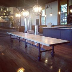 Personalized Kitchen Gifts Wilsonart Cabinets Hand Crafted Communal Dining Table By Dso Creative ...