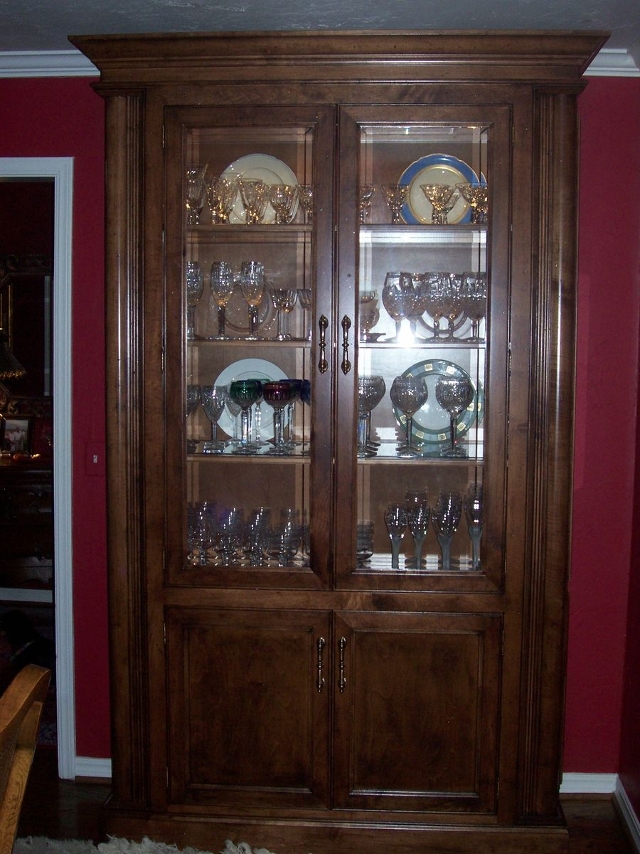 Handmade Curio Cabinet by Unique Wood Works  CustomMadecom