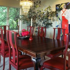Custom Restaurant Tables And Chairs Siesta High Chair Queen Anne Walnut Dining Table By Joel