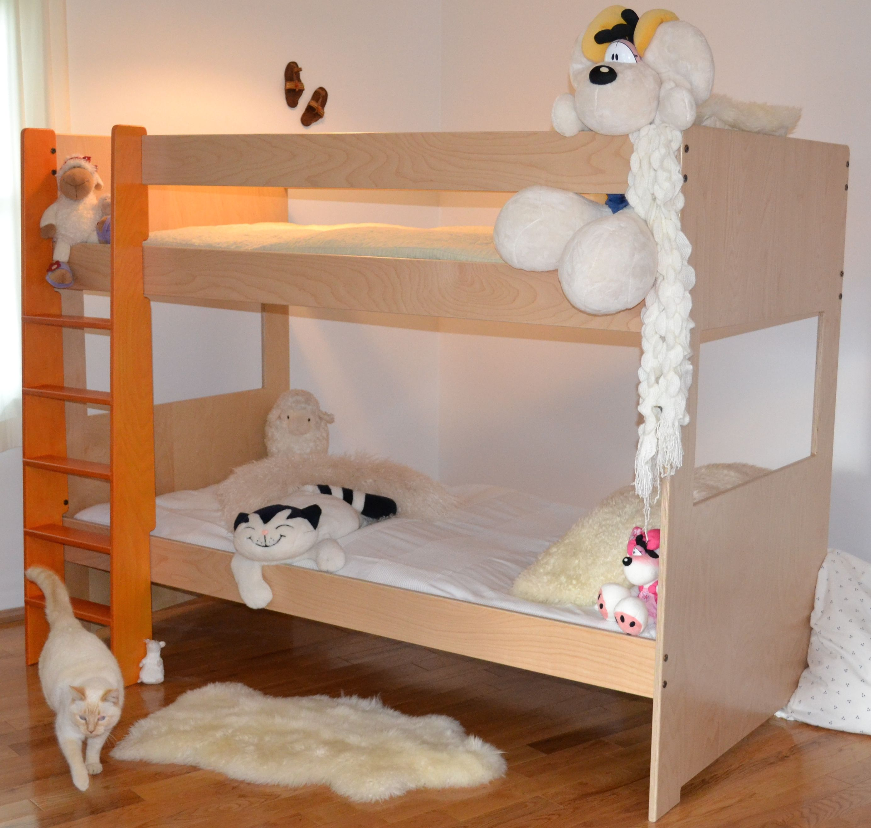 Buy A Hand Made Modern Bunk Bed Made To Order From Loft And