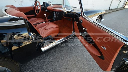 Hand Crafted Custom 1958 Chevrolet Corvette Leather