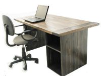 Hand Made Farmhouse Style Office Desk by Custom Made ...