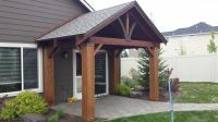 Hand Crafted Cedar Craftsman Patio Cover Kit by Bird Boyz ...