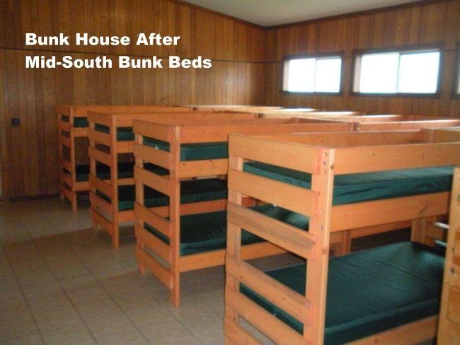 Handmade Bunk House Bunk Beds by Ambassador Woodcrafts