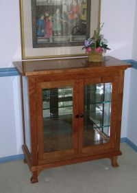 Handmade Small China Cabinet by Dunbar Woodworking Designs ...