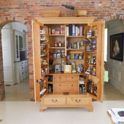 Furniture Kitchen Pantry Movable Island Custom Cabinet By Jeff Koopus And Chair Maker Custommade Com