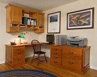 Handmade Custom Home Office Desk And Cabinet by John ...