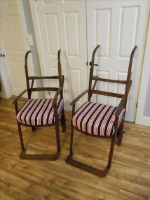 Hand Crafted Unique Chairs Iron Vintage 2