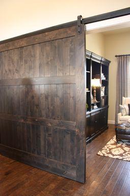 Custom Knotty Alder Barn Door by Riverwoods Mill