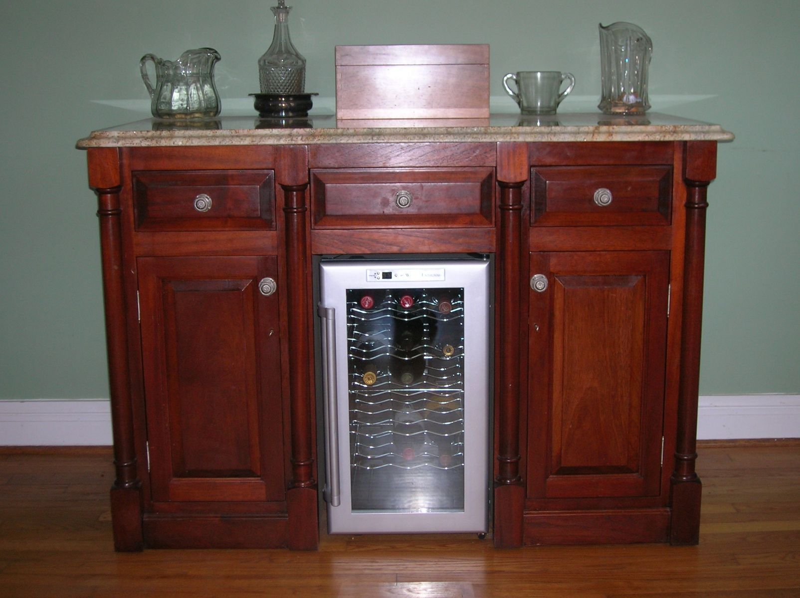 ikea kitchen carts southwest custom wine bar by mike willis woodworking | custommade.com