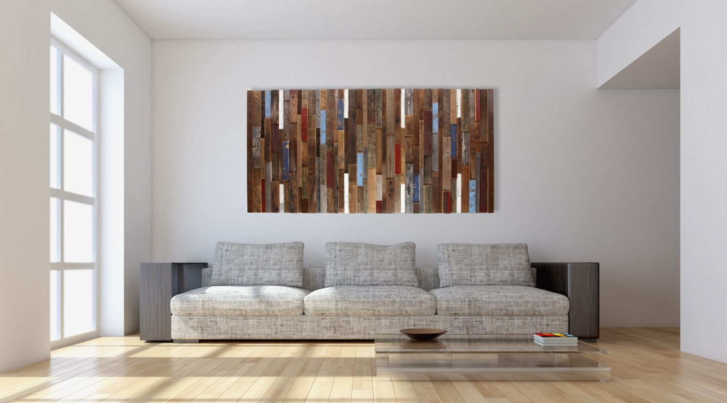 hand made wood wall art made of old reclaimed barnwood different